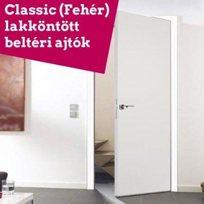 Classic (Fehér) lakköntött ajtó