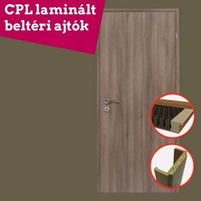 CPL minőségű 3 dimenziós dekor beltéri ajtók