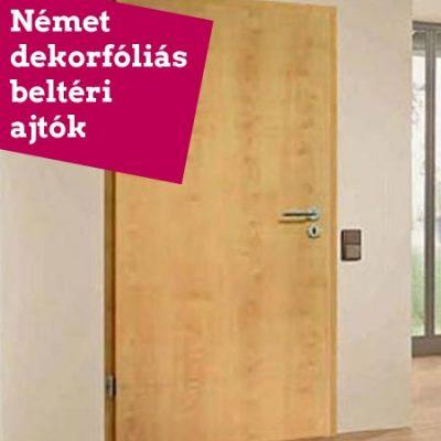 Német dekorfóliás beltéri ajtó