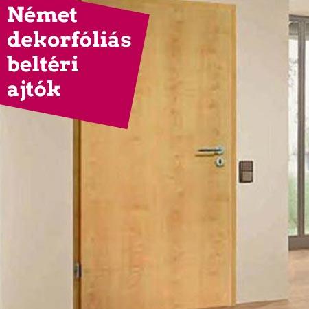 Német dekorfóliás beltéri ajtók