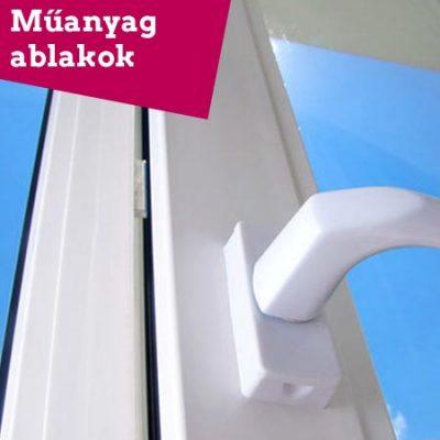 Műanyag ablak, erkélyajtó