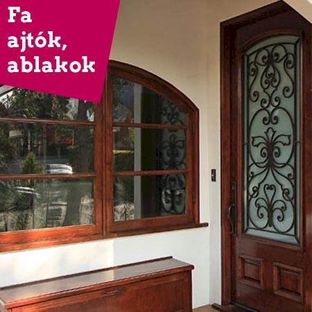 fokategoria fa ajtok es ablakok